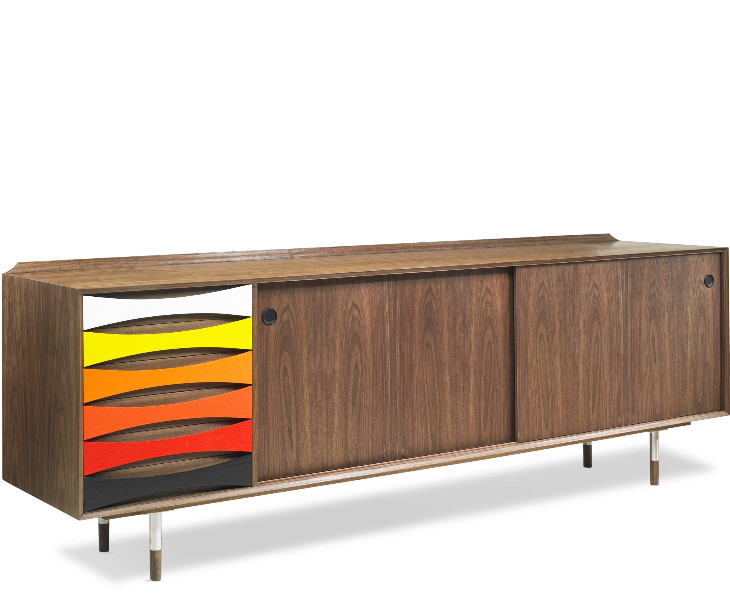 Arne-Vodder-skaenk-AV01-AV02-Valnoed-Walnut-farver