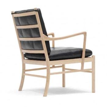 Ole Wanscher OW149 Colonial stol, eg / læder
