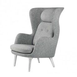 Ro stol med aluminiumsben